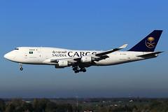 Saudi Arabian Cargo (ACT Airlines)  Boeing 747-481(BDSF) TC-ACF (widebodies) Tags: liege lüttich lgg eblg widebody widebodies plane aircraft flughafen airport flugzeug flugzeugbilder saudi arabian cargo act airlines boeing 747481bdsf tcacf
