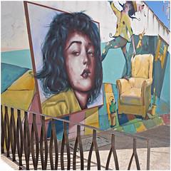 baena 5 (beauty of all things) Tags: espana spanien baena andalusien paintings gemälde urbanes zäune fences quadratisch