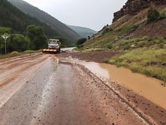 Region 5 - CO 145 Mud Clean Up (coloradodotphoto) Tags: region5 colorado cdot flood damage safety recovery hydraulics emergency