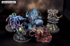 Cthulhu Wars Pack 1 (whitemetalgames.com) Tags: cthulhu wars pack 1 abthoth chaugnar faugn cthugha mother hydra yig whitemetalgames wmg white metal games painting painted paint commission commissions service services svc raleigh knightdale northcarolina north carolina nc hobby hobbyist hobbies mini miniature minis miniatures tabletop rpg roleplayinggame rng warmongers wargamer warmonger wargamers tabletopwargaming tabletoprpg great old ones one green squid monster abhoth king yellow azothoth colour color out space deep lovecraft hp lovecraftian new england cosmic horror