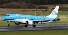 PH-EXR (PrestwickAirportPhotography) Tags: egpk prestwick airport klm embraer emb175 phexr