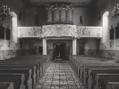 Church of Saint John of Nepomuk (wojciechpolewski) Tags: church sacral christian architecture poland wpolewski schwarzweis blanconegro blackwhite photos photo