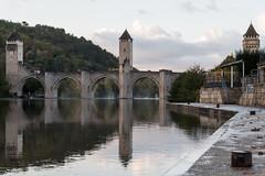 _FDA1506 (francisdelelis) Tags: lot rivière eau cahors pont valentré