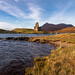 Sunset at Ardvreck Castle