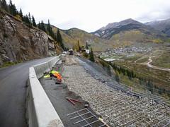 Region 5 - 2017.09.22_Wall M-06-C Last Layer of Reinforcing (coloradodotphoto) Tags: region5 colorado cdot dot retainingwall safety danger hazard caution us 550