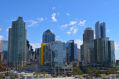 Leaving Port - San Diego Skyline (Neal D) Tags: california sandiego skyline buildings waterfront