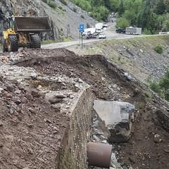 Region 5 - US 550 Rock Slide Clean Up_07.09.2018 (coloradodotphoto) Tags: region5 colorado cdot dot mudslide rockslide hazard safety