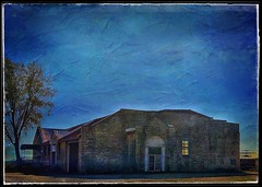 Waiting for the children.... (Sherrianne100) Tags: dawn empty waiting abandoned school rural ozarks missouri