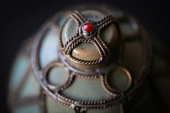 jar lid 2 (Patrick ~J~) Tags: macromondays lids ornate old details dof worn jar 2019