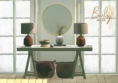 Barley - Oslo Set @ ACCESS (John Barley SL) Tags: barley home decor secondlife originalmesh