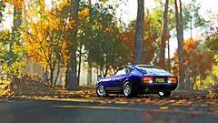 fairlady z 2 (Keischa-Assili) Tags: 4k uhd 1080p full hd fullhd wallpaper screenshot photo auto car automotive automobile virtual digital game gaming graphic edited photography picture videogame forza horizon 4 nissan fairlady z blue jdm tuner oldtimer classic autumn
