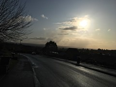 Sunrise (Project 365 Day 3- 12th November 2019) (lazy south's travels) Tags: exeter devon england english britain british uk pennsylvania road street scene sunrise morning