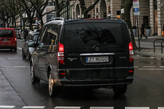 Poland Indiv. (Zachodniopomorskie) - Mercedes-Benz Viano CDI 30 W639 (PrincepsLS) Tags: poland polish individual license plate z zachodniopomorskie germany berlin spotting mercedesbenz viano cdi 30 w639