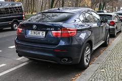 Sweden Individual - BMW X6 E71 (PrincepsLS) Tags: sweden swedish individual license plate singhg germany berlin spotting bmw x6 e71