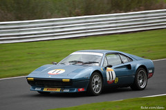 6246 (Dave^) Tags: 27th september 2014 oulton park ferrari 512 bb 308 gtb 328 gt4