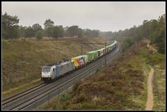 Lineas 186 455, Assel (J. Bakker) Tags: lineas 186 455 br186 traxx 44681 assel nederland noahs train railpool