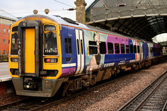 Class 158: 158790 Northern Newcastle Central (emdjt42) Tags: northern dmu newcastlecentral class158 158790