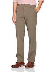 Dockers Men's Straight Fit Workday Khaki Pants with Smart 360 Flex, Dark Pebble (Stretch) - Brown, 34W x 32L (Shopping Guide 7) Tags: 32l 34w brown dark dockers fit flex khaki mens pants pebble smart straight with workday