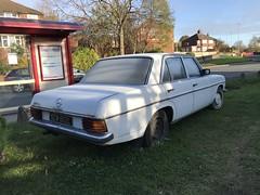 Mercedes W114 200D (VAGDave) Tags: mercedes w114 200d 1973