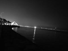#sea #night #mood #kuwait #music #friend #winter #winter_is_here #winter_is_coming . (matarjoud) Tags: sea night mood kuwait music friend winter winterishere winteriscoming