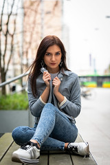 Kornelia (Michał Banach) Tags: kornelia nikond850 poland polska poznań tamronsp85mmf18divcusd autumn beautiful beauty city fashion female girl polishgirl portrait portret street urban woman greaterpolandvoivodeship