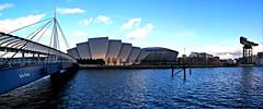 Glaswegian Icons (Valantis Antoniades) Tags: finnieston crane armadillo sse hydro bells bridge modern architectur glasgow scotland architecture