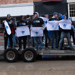 "<b>Homecoming Parade 2019</b><br/> Despite the rain, the Luther College Homecoming Parade started on Water Street in downtown Decorah then made its way up to campus. October 5, 2019. Photo by Anh Le.<a href=""//farm66.static.flickr.com/65535/49055553126_75dc93a37a_o.jpg"" title=""High res"">&prop;</a>"