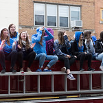 "<b>Homecoming Parade 2019</b><br/> Despite the rain, the Luther College Homecoming Parade started on Water Street in downtown Decorah then made its way up to campus. October 5, 2019. Photo by Anh Le.<a href=""//farm66.static.flickr.com/65535/49055553766_9c4f26b0c5_o.jpg"" title=""High res"">&prop;</a>"