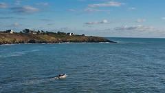 Paysage de Bretagne (Patrick Doreau) Tags: mer sea eau water bateau boat ciel sky blue bleu maison house bretagne brittany breizh