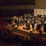 "<b>Homecoming Concert</b><br/> Symphony Orchestra, Nordic Choir and Concert Band showcased their work at a homecoming concert in the CFL Main Hall on Oct. 6, 2019. Photo by Danica Nolton.<a href=""//farm66.static.flickr.com/65535/49055576676_1c6cd114ed_o.jpg"" title=""High res"">&prop;</a>"