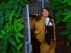 Atomic Man In The Valley. (Blondeactionman) Tags: bamhq dinosaur valley atomic man repro diorama action figure gi joe photography one six scale kitbashed