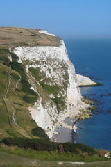 White Cliffs of Dover, Kent, England (alexdavidwriter) Tags: dover kent england britain uk whitecliffsofdover cliffs rocks coast coastline sea heights nature chalk hills paths rambling english landscape