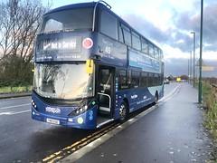 Nct 491 Navy Line 49 (Snape Bus Pics) Tags: alexanderdennis enviro400cbgcity scania yn19ege navyline49 491 nottinghamcitytransport nct