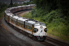 Impending Doom (marko138) Tags: cpcapital emd funit f9a harrisburg harrisburgline ns270 norfolksouthern ocs pennsylvania summer businesstrain city locomotive mainline railfan railroadphotography urban