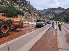 Region 5 - I-70 S Canyon Mudslide.02 (coloradodotphoto) Tags: region5 colorado cdot flood damage safety recovery hydraulics emergency