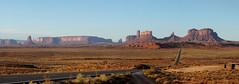 DSC02991 (Aubrey Sun) Tags: monument valley ut az utah arizona desert mesa butte spire red rock navajo forrest gump point