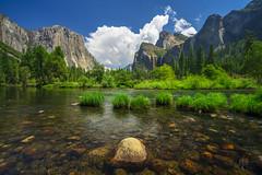 Just Another Day in Yosemite (RobertCross1 (off and on)) Tags: 1250mmf3563mzuiko a7rii alpha bridalveilfall ca california emount elcapitan ilce7rm2 mariposa mercedriver sierranevada sierras sony valleyview yosemite yosemitenationalpark yosemitevalley bluesky clouds fullframe granite mirrorless mountains river trees water