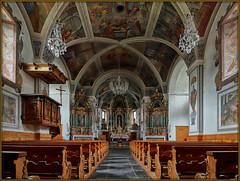 Savognin/GR – Nossadonna (Stefan Wirtz) Tags: savognin graubünden grisons schweiz suiss switzerland church kirche eglise eglisedebaroque baroque barock barockkirche baroquechurch fresko fresco paintings