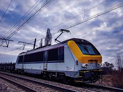 LINΞΛS 1334 @ Ekeren (Avinash Chotkan) Tags: lineas hle13 1334 belgium ekeren trains cargo