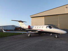T7-FOZ Cessna Citation M2 (Eagle Express) (Aircaft @ Gloucestershire Airport By James) Tags: gloucestershire airport t7foz cessna citation m2 bizjet egbj james lloyds