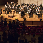 "<b>Homecoming Concert</b><br/> Symphony Orchestra, Nordic Choir and Concert Band showcased their work at a homecoming concert in the CFL Main Hall on Oct. 6, 2019. Photo by Danica Nolton.<a href=""//farm66.static.flickr.com/65535/49055790912_81ceae811a_o.jpg"" title=""High res"">&prop;</a>"