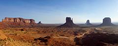 Untitled_Panorama1 (Aubrey Sun) Tags: monument valley ut az utah arizona desert mesa butte spire red rock navajo