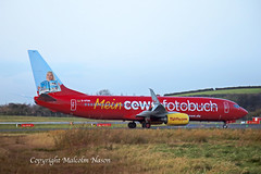 B737-8k5 D-ATUH TUIFLY special colours (shanairpic) Tags: jetairliner passengerjet b737 boeing737 shannon tui datuh