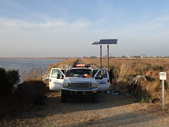 Installing Solar Powered PIT tag antenna station