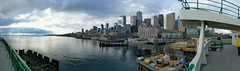 View of the Water (Seattle Department of Transportation) Tags: sdot seattledepartmentoftransportation evelynhathaway ferry water ferriswheel waterfront city buildings seattle transporation panorama