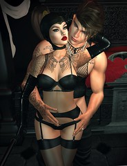 You're the only man I'll never get tired of loving.. 💋 (Scarlett Saphira) Tags: sl secondlife second life game 2nd lovers couple sexy beautiful gorgeous model pose beauty bento mesh fitmesh catwa magu victor head maitreya signature domina hair domme femdom dominatrix slave male submissive sub ds relationshiop cuck husband wife hot lingeries underwear black bra gloves stocking nylon fishnet top tank bdsm lifestyle