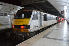Greater Anglia 90014 (Will Swain) Tags: london liverpool street station 19th october 2019 abellio greater city centre capital south train trains rail railway railways transport travel uk britain vehicle vehicles england english europe transportation class anglia 90014 90 014 14