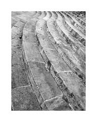 Valencia 36 (BLANCA GOMEZ) Tags: spain valencia bw blackwhite light shadows patterns textures lines curves arquitectura architecture arquitectos puentedelreal bridge puente delrealbridge jardíndelturia turiagarden stairs escaleras piedra stones