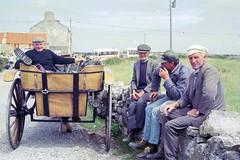Break (Loon Man Returns) Tags: smoking break cigarettebreak aranislands ireland wagon drivers wagondrivers cartdrivers cart