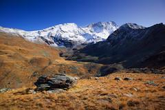 Weisshorn (Tounis_9) Tags: canoneosm50 canonefm1545mmf3563isstm valais alps switzerland snow autumn landscape